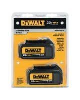 Dewalt Dcb200-2 20V Max Li-Ion Battery 2-Pack (3.0 Ah)