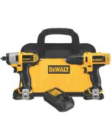 Dewalt DCK211S2 12V Max Cordless Drill /Impact Driver Combo Kit