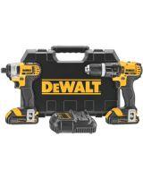 Dewalt DCK285C2 20V Max Li-Ion Compact Hammerdrill & Impact Comb