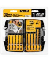Dewalt Dd5060 10 Pc Impact Drilling Set