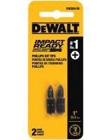 Dewalt DW2201IR #1 Square Recess Bit Tipimpact Ready