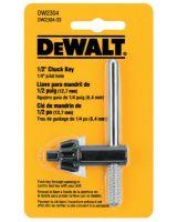 "Dewalt DW2304 1/2"" Chuck Key 1/4"" Pilo"