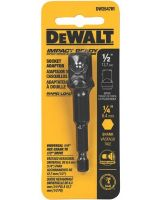 "Dewalt DW2547IR 1/4"" Hex Shank To 1/2"" Socket Adaptor"