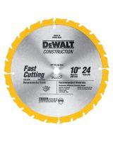 """Dewalt 115-Dw3112 10"""" 24T Thin Kerf Table"""