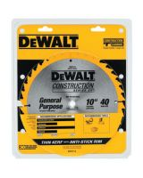 "Dewalt DW3114 10"" 40T Thin Kerf Table"