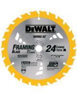"""Dewalt DW3178 7-1/4"""" 24T Series 20 Con (1 EA)"""