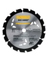 "Dewalt DW3191 7-1/4"" 18T Rock Carbide (1 EA)"