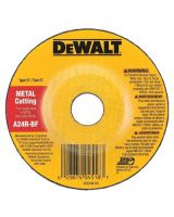 "Dewalt DW4518 4-1/2""X1/8""X7/8"" A24R 12-000Rpm General Pur (1 EA)"