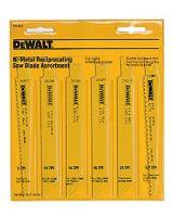 Dewalt Dw4856 6Pc. Metal/Wood Reciproc