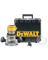 Dewalt DW618K 2-1/4 Hp Electronic Vs Fixed Base Router Kit