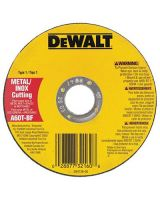 "Dewalt Dw8062 4-1/2""X.045""X7/8"" Metalthincut-Off Wheel Type-1"