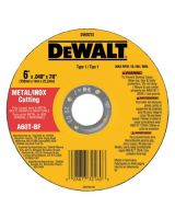 "Dewalt Dw8725 6""X.040""X7/8"" A60T Metalthin Cutoff Wheel Type1"