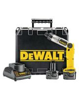 Dewalt DW920K-2 Cordless Screwdriver 7.2Volt 2 Batteries