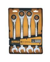 Dewalt 115-Dwmt74194 Jumbo Ratcheting Combo Wrench Set-Mm (2 ST)