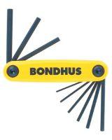 "Bondhus 12589 5/64-1/4"" Gorilla Grip Foldup Tool Set"
