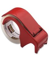 Scotch Handheld Packaging Tape Dispenser - Holds Total 1 Tape(s) - Refillable - Red