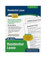 Adams Residential Lease Forms - Legal Form - 1 - Forms and Instructions