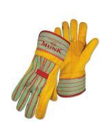 Boss 1BC5510J Jumbo Monk Golden Browndouble Palm W/Rubberize (1 PR)