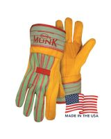 Boss 1BC5510USA Domestic Gold And Browndbl Palm Safety (12 PR)