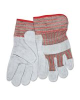 Memphis Glove 1201S Gunn Pattern Ladies Leather Palm Glove 2-1/2 (1 PR)
