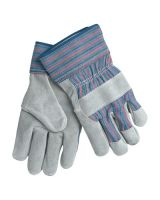 Memphis Glove 1300XL Full Leather Palm W/Rd/Blu Stripe Fabric 2 1/2In (12 PR)