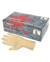 Memphis Glove 127-5054Xl Latex Disp Glove 4 Mil Ind Standard Box/100 (Qty: 10)