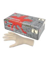 Memphis Glove 5060S Small 5Mil. Powdered Latex Glove Industrial (100 EA)