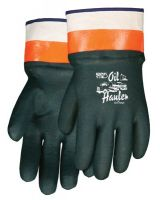 "Memphis Glove 127-6410 10"" Gauntlet Double-Dippvc Glove Jersey Line (12 PR)"