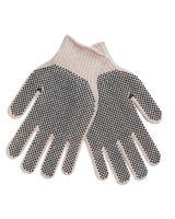 Memphis Glove 9660LMB Regular Weight Cotton/Poly Glove Blue Pvc Dots (1 PR)