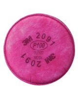 3M 2091 P100 Particulate Filter (2 EA)