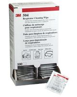 3M 504 Alcohol Free Respiratorcleaning Wipe-F/5000 (100 EA)