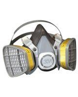 3M 5303 21579 Half Mask Respirator Large F/Organic V