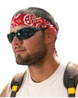 Ergodyne 12341 Model 6700 Flames Headband/Bandana One Size