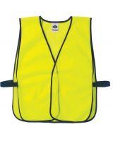 Ergodyne 20020 Lime Economy Vest Mesh H&L