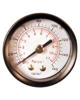 """Coilhose Pneumatics 26G-60 1 1/2"""" Dial Gauge 0-60 Psi 1/8"""" Back Mount"""