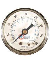 "Coilhose Pneumatics 8800-160 15060 2"" Pressure Gauge0-160Psi 1/4"" Back M"