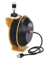 Coxreels EZ-PC13-5012-A 12/3 Awg Safety Series Spring Rewind Power Reel