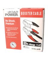 Southwire 08760 20' 500Amp 4Ga. Black Booster Cable W/ Hd Parro