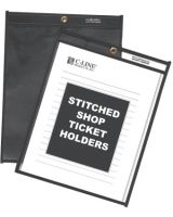 C-Line Products Inc. 45912 Shop Ticket Holders Clear- 9 X 12- 25/Bx