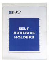C-Line Products Inc. 70911 Self-Adh Vinyl Shop Ticket Holders 8X11 50/Bx