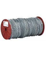 Campbell 193-0890824 8 Bk Steel Sash Chain (Qty: 1)