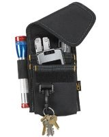 Clc Custom Leather Craft 1104 4 Pocket Multi-Purpose Tool Holder