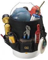 Clc Custom Leather Craft 1119 48-Pocket Bucket Pocketsin & Out