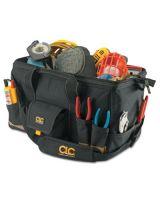 """Clc Custom Leather Craft 1163 31-Pocket 18"""" Megamouthtote Bag"""