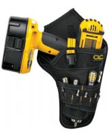 Clc Custom Leather Craft 5023 Cordless Drill Holster -Multiple Outer Pockets (1 EA)