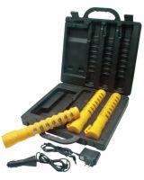 Crown 1157 Emergency Led Baton Roadflare 3-Pack Kit Yellow