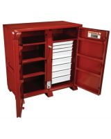 Jobox 1-679990 Jobox Steel 2 Door Drawer Cab. 60.13X30.25X60.75