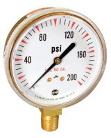 Ametek U.S. Gauge 166364A 400 Psi Welding & Compressed Gas Gauge