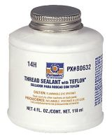 Permatex 230-80632 #14  Thread Sealant Withtelfon 4 Oz Bottle (Qty: 1)