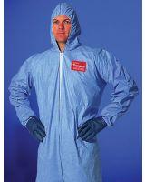 Dupont 251-Tm127S-L Tempro Coverall Zipper Front Att Hood Ela Wr & A (Qty: 1)